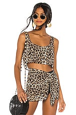 LPA Tillie Top in Leopard
