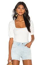 LPA Bria Bodysuit in White