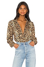 LPA Gabriella Bodysuit in Leopard