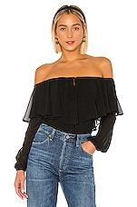 LPA Remi Bodysuit in Black