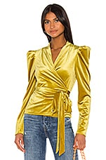 LPA Brielle Top in Mustard