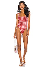 LPA Amelie One Piece in Red Dot