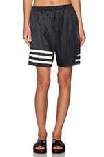 x Adidas 3 Stripe Shorts in Black