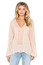 Hailey Blouse en Nude