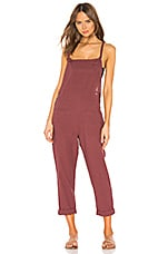 L*SPACE Cali Girl Jumpsuit in Currant
