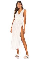 L*SPACE Kenzie Cover Up Dress in Cream