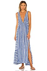 L*SPACE Allison Cover Up in Poolside Stripe