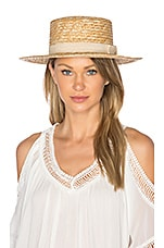 L*SPACE J'Adore Hat in Natural
