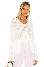 L*SPACE Olympia Sweater in Cream