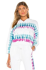 L*SPACE Gold Coast Pullover in Wave Chaser Tie Dye