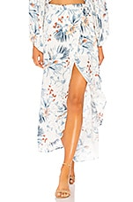 L*SPACE Whitney Wrap Skirt in Bird Of Paradise