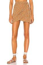 L*SPACE Lanie Skirt in Beachcomber Dot
