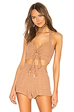 L*SPACE Bella Top in Camel