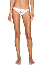 L*SPACE Itsy Bikini Bottom in Cream