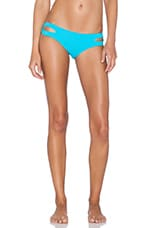 Estella Bikini Bottom in Turquoise