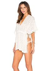 Washed Ashore Poncho en Naturel