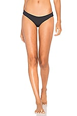 L*SPACE Sandy Bikini Bottom in Black