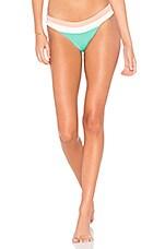 L*SPACE Veronica Bikini Bottom in Spearmint Multi