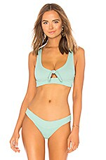 L*SPACE Tara Top in Light Turquoise