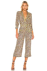 Le Superbe Beatnik Jumpsuit in Leopard