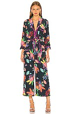 Le Superbe Beatnik Jumpsuit in Raj Floral