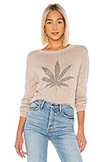 Le Superbe Pot Luck Pullover in Sand