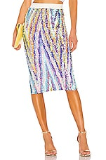 Le Superbe Liza Skirt in Technicolor