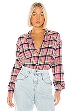 Le Superbe Courtney's Kurt Shirt in Nevermind Plaid