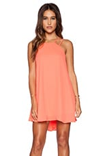 Criss Cross Applesauce Dress in Coral