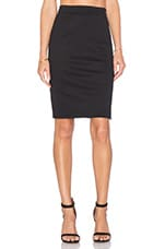 Natalie Pencil Skirt in Black