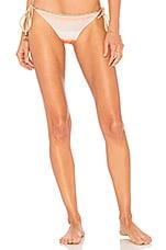 Luli Fama Los Flamencos Side Tie Bikini Bottom in Multicolor