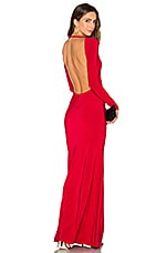 Lurelly Monaco Gown in Red