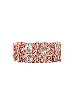 x REVOLVE Exclusive Stone Bracelet in Rose Gold