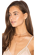 The Rococo Choker + Lariat in Rose Gold