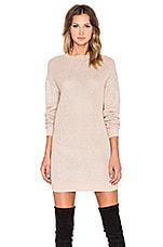 Sweater Dress in Blush & Silver