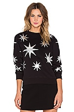 Love Moschino Star Sweatshirt in Black