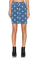 Star Skirt in Denim