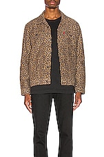 LEVI'S Premium The Trucker Jacket in Patchy Cheetah