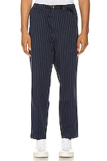 LEVI'S Premium Pull-On Taper Pant in Navy Pinstripe