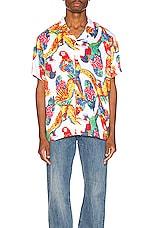 LEVI'S Premium Cubano Shirt in Parrots Brilliant White