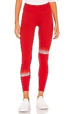 lilybod Clare Legging in Sunburst Red