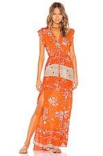 Maaji Cinched Maxi Dress in Flowering Secret