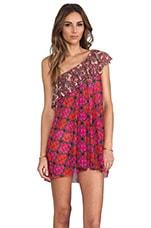 Maaji Short Dress in Bias Hearties