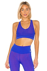 Maaji Hike Reversible High Impact Sports Bra in Azure