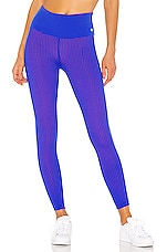 Maaji Double Dream Reversible High Rise Legging in Azure