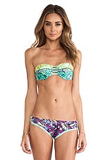 Underwire Bandeau Top in Fractal Reverie