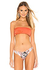 Maaji The Beverly Bandeau Top in Mandarin