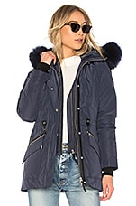 Mackage Katryn Jacket With Fur Collar in Ink