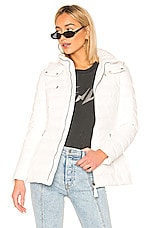 Mackage Kimiana Down Jacket in Off White