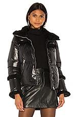 Mackage Miya Puffer Jacket in Black